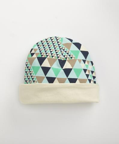 Organic Cotton Beanie in Sailboats - $14.99