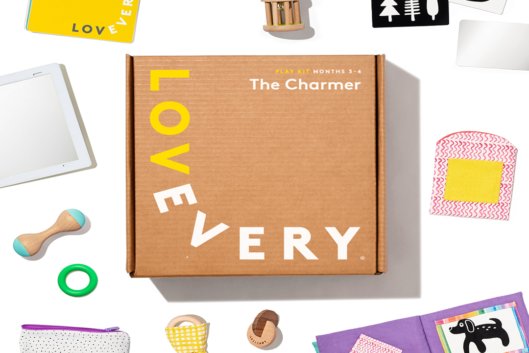 Lovevery Play Kit 3-4 Month Box Image