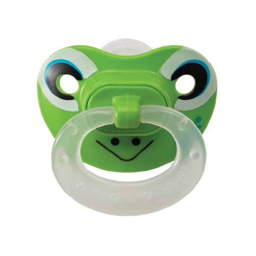 NUK Orthodontic Silicone Pacifier  - $4.99