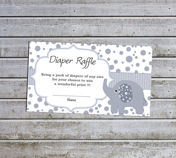 Ideas to actually get diapers at your baby shower diaper raffle ticket printable insert for a baby shower 300 filmwisefo