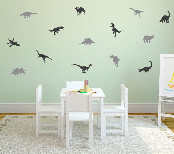 Dinosaur Wall Decal - $17.50+