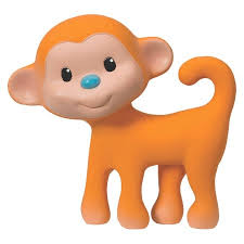 Infantino Go GaGa Squeeze and Teethe Toy (Monkey) - $12.99
