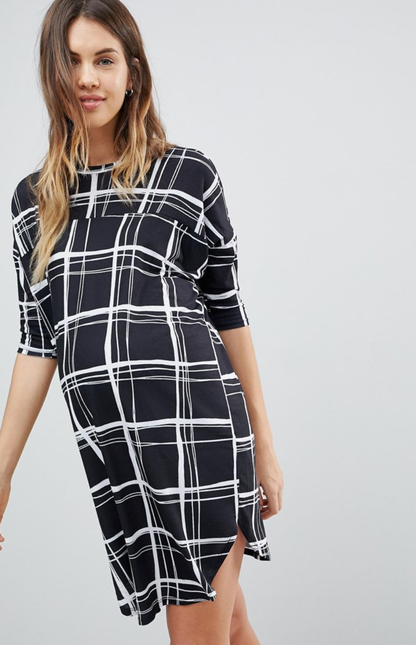 475752a564e ASOS Maternity Oversize T-Shirt Dress -  40.00