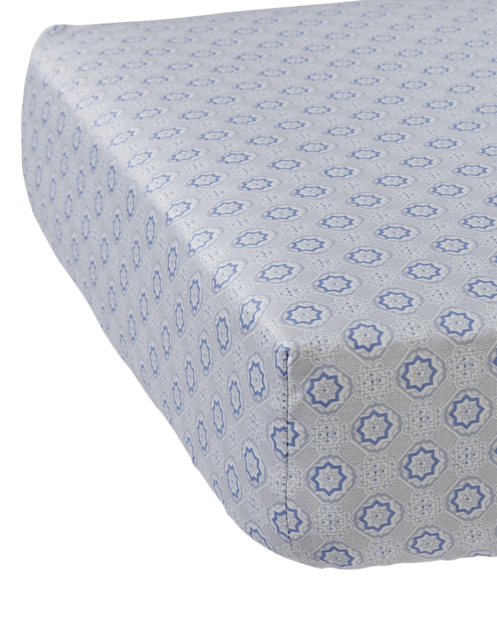 Mosaic Crib Sheet - $36.00