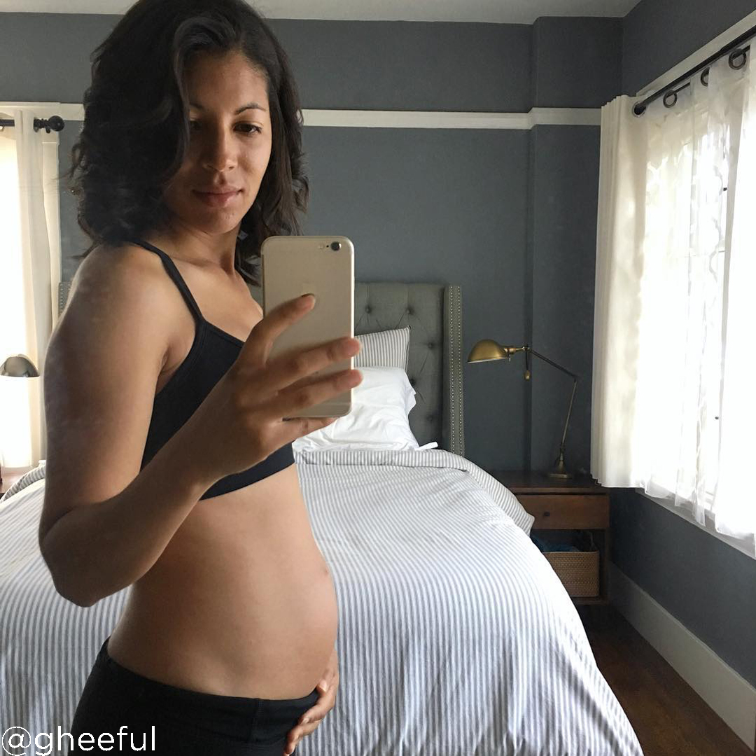18 weeks pregnant belly size @gheeful