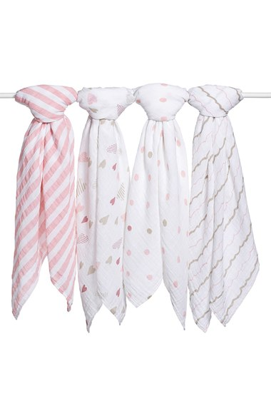 Aden + Anais Classic Swaddling Cloths (4-Pack) - $49.95