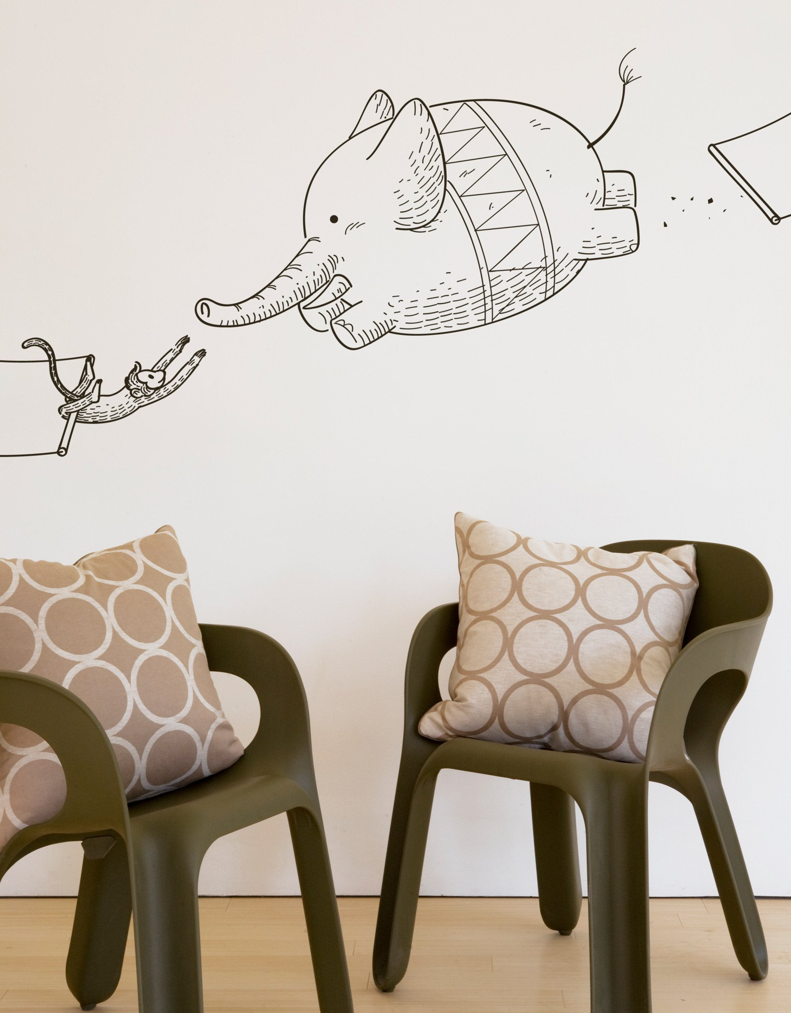 Animal Wall Stickers Woodland Creatures