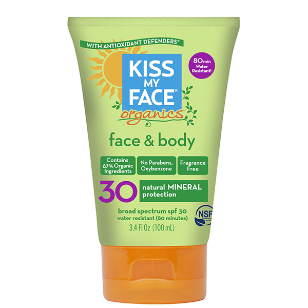 Kiss My Face Sunscreen - $15.99