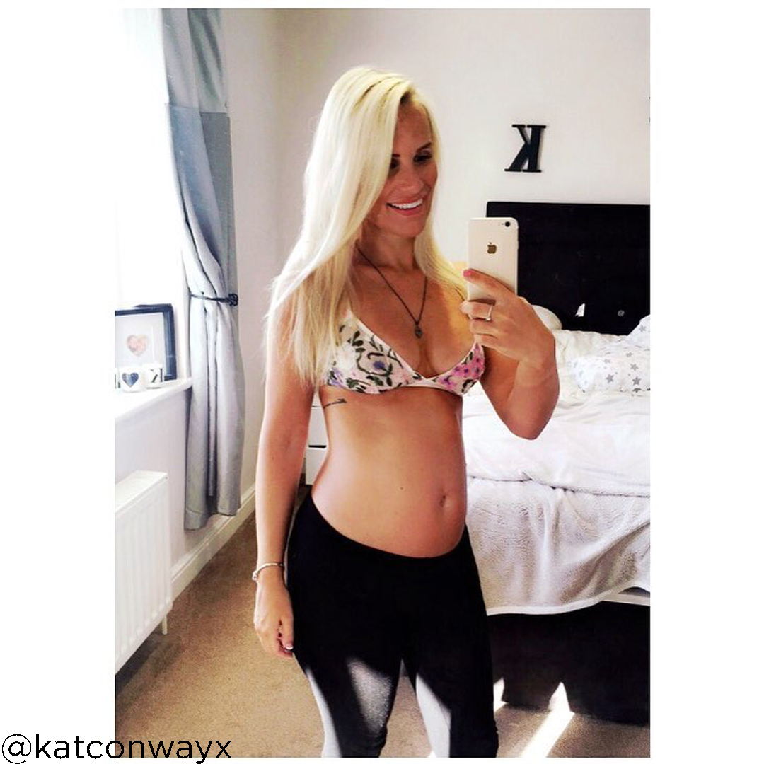 24 weeks pregnant baby size @katconwayx
