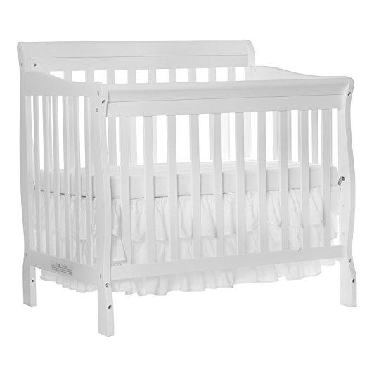 Dream On Me 4 In 1 Aden Convertible Mini Crib   $119.99