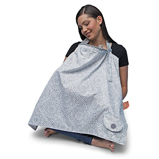 Nursing Cover - Boho Grey - $24.99