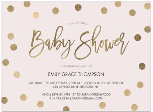 Walgreens Baby Shower Invitation Photo