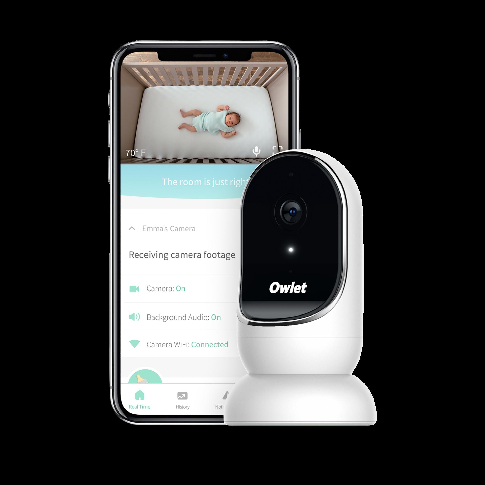 The First Year Eu Plug Baby Monitor Sleeping Listening Digital Night Light K