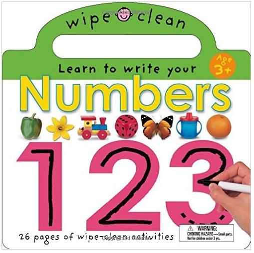 Wipe Clean: Numbers - $6.39