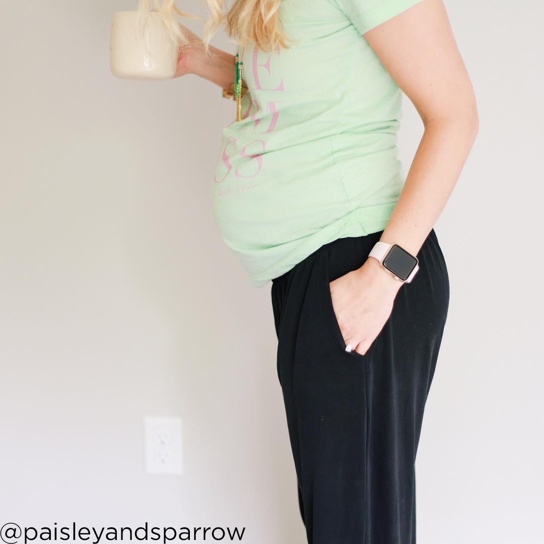 26 weeks pregnant bump paisleyandsparrow