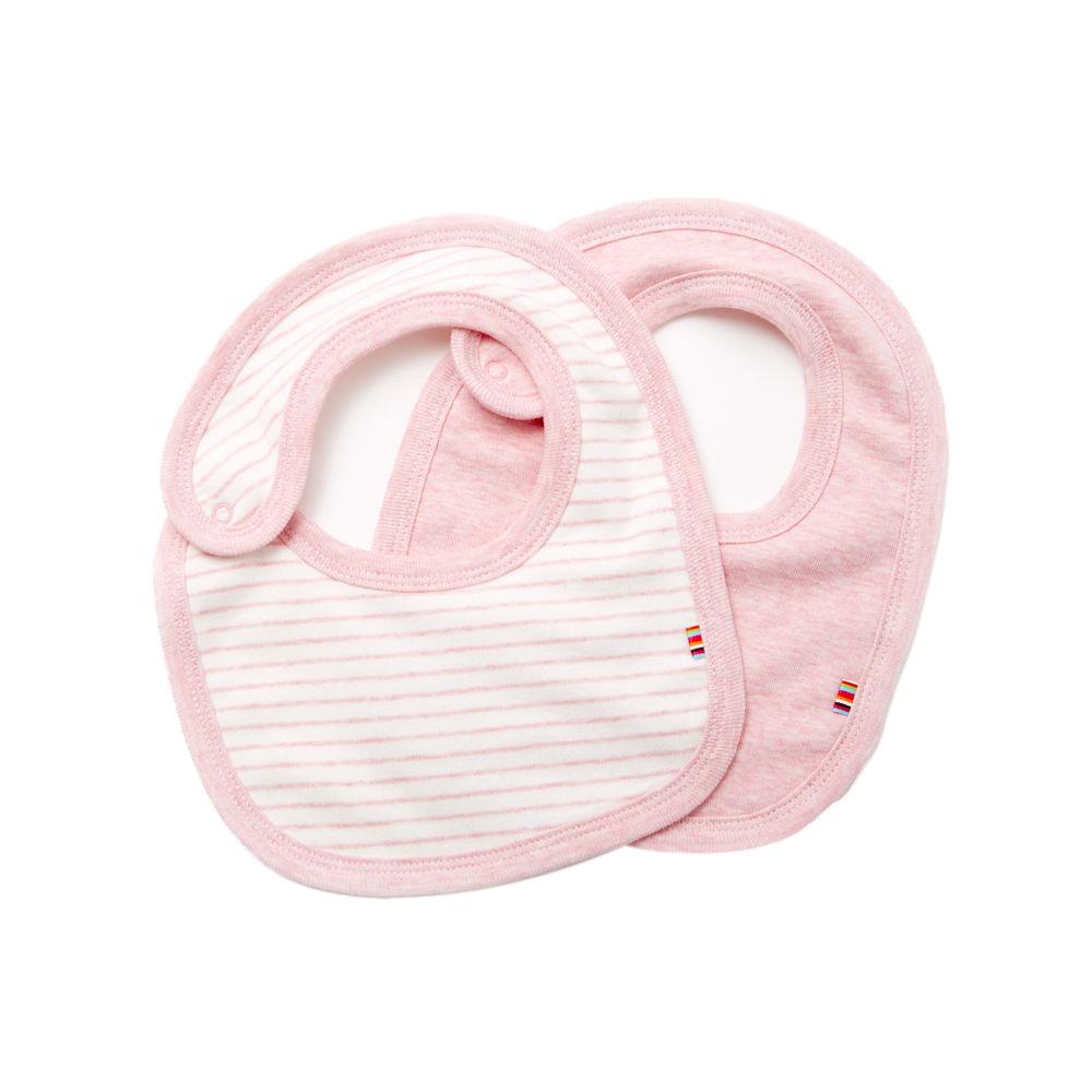 giggle Organic Cotton Baby Bib - Heathered 2-Pack - $20.00