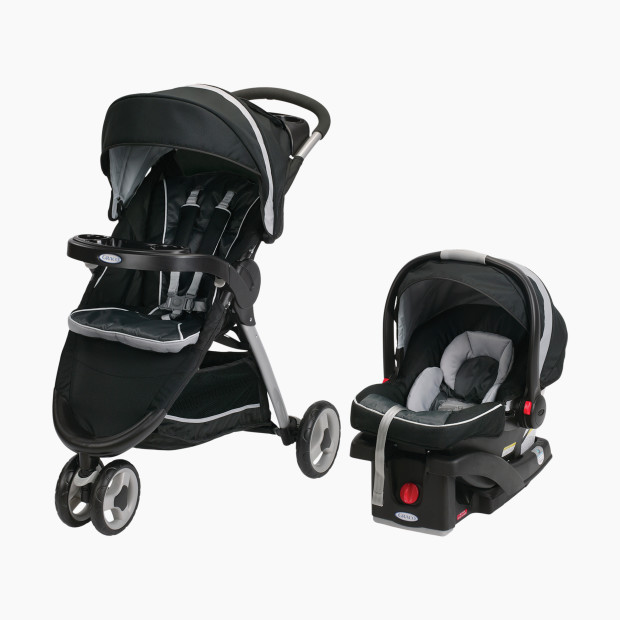 Graco FastAction Fold Sport Click Connect Travel System : $208,22