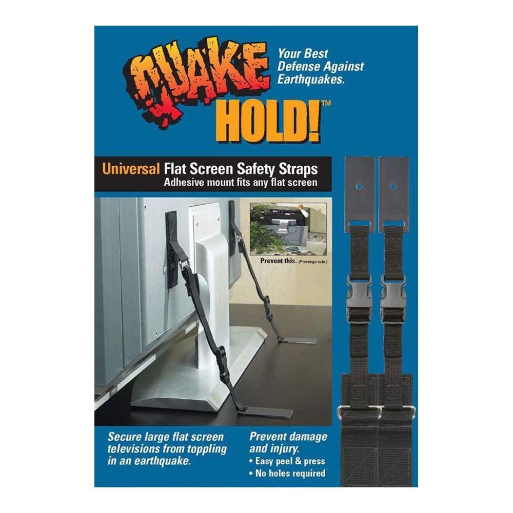 Quakehold Universal Flat Screen Safety Straps 18 61