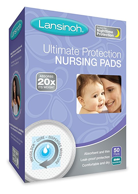 Lansinoh Ultimate Protection Disposable Breast Pads (Pack of 50) - $8.82