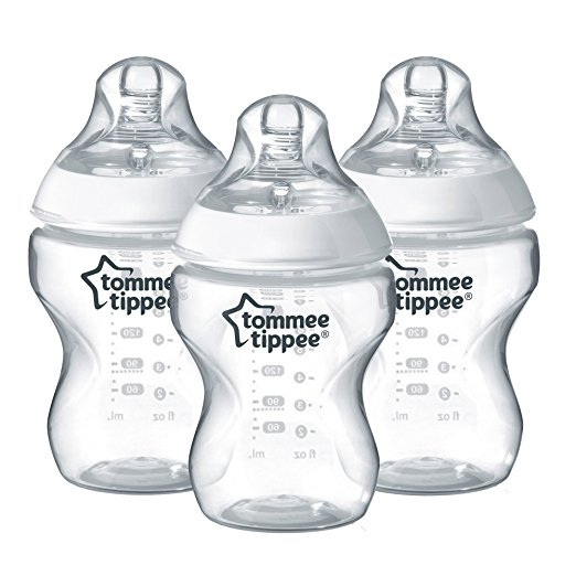 tommee tippee closer to nature bottles 9 ounce 3 count 879 - Best Glass Baby Bottles