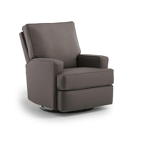 Best Chairs Kersey Upholstered Swivel Glider Recliner Product - $499.99