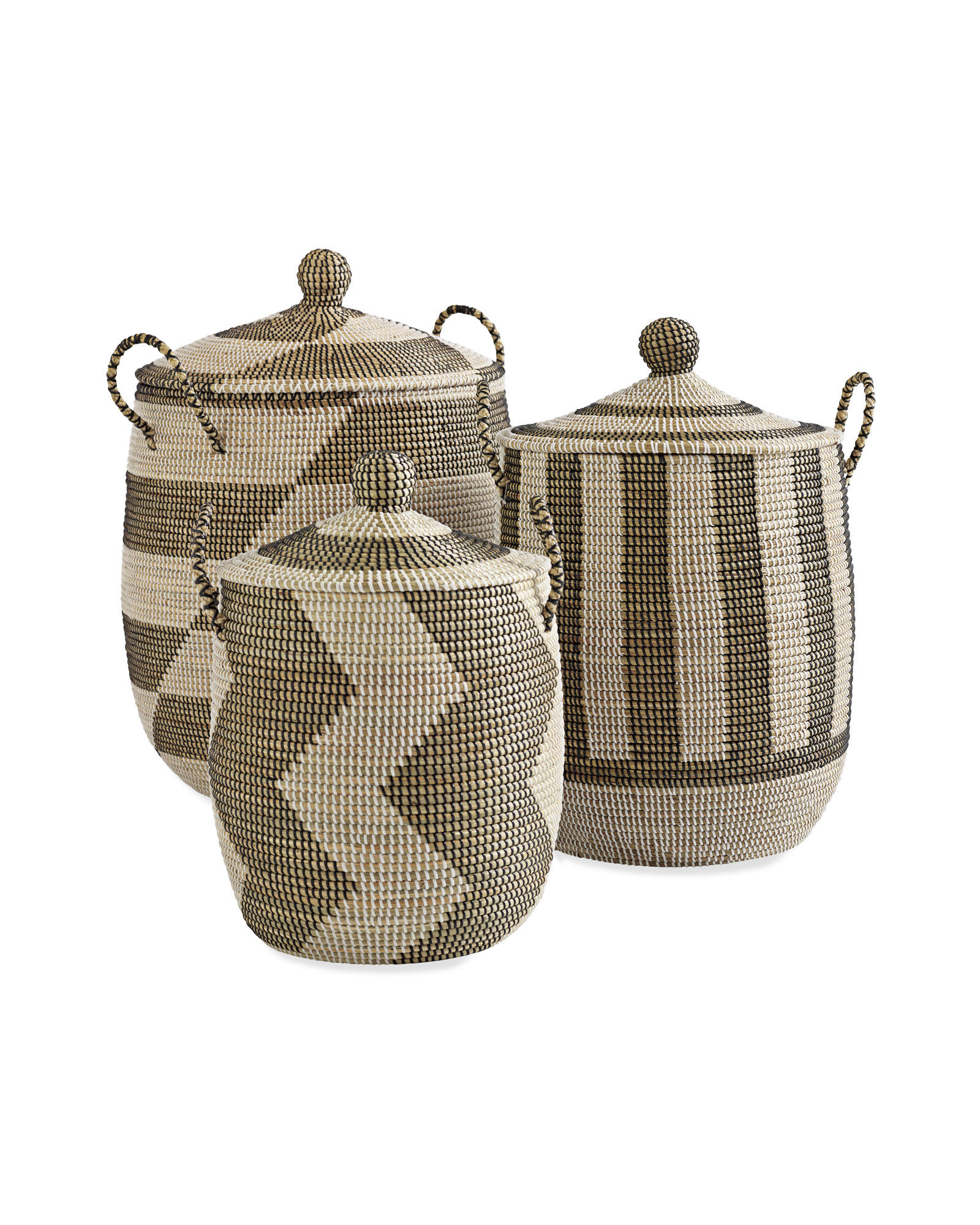 Striped La Jolla Basket - $168.00