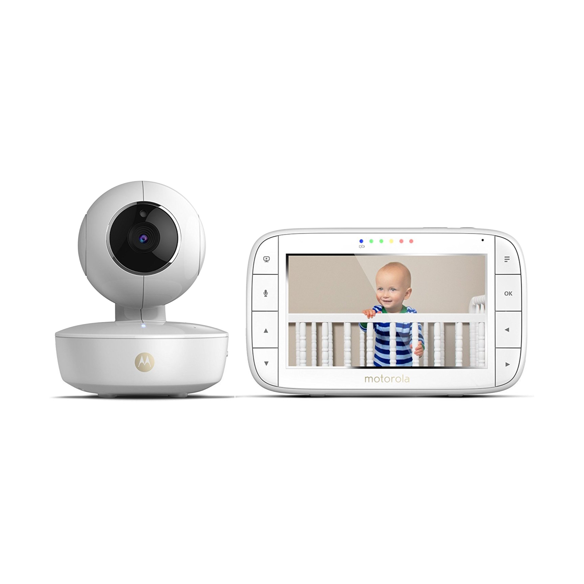"Motorola MBP36XL Video Baby Monitor Pan//Tilt//Zoom 5"" Color Screen New"
