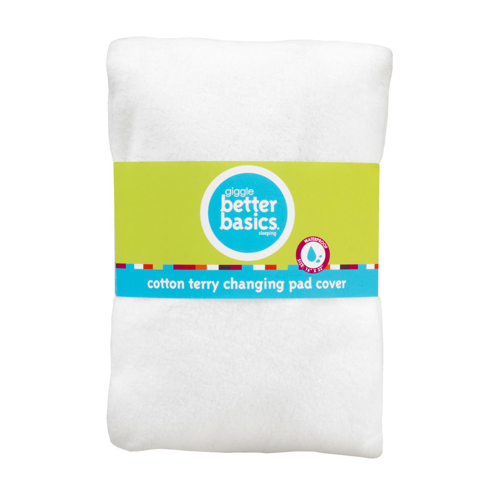 giggle Better Basics Terry Waterproof Changing Pad Cover - $15.00