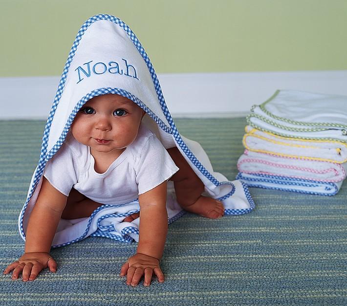 Baby sprinkle gingham washcloths wrap set 3650 negle Images