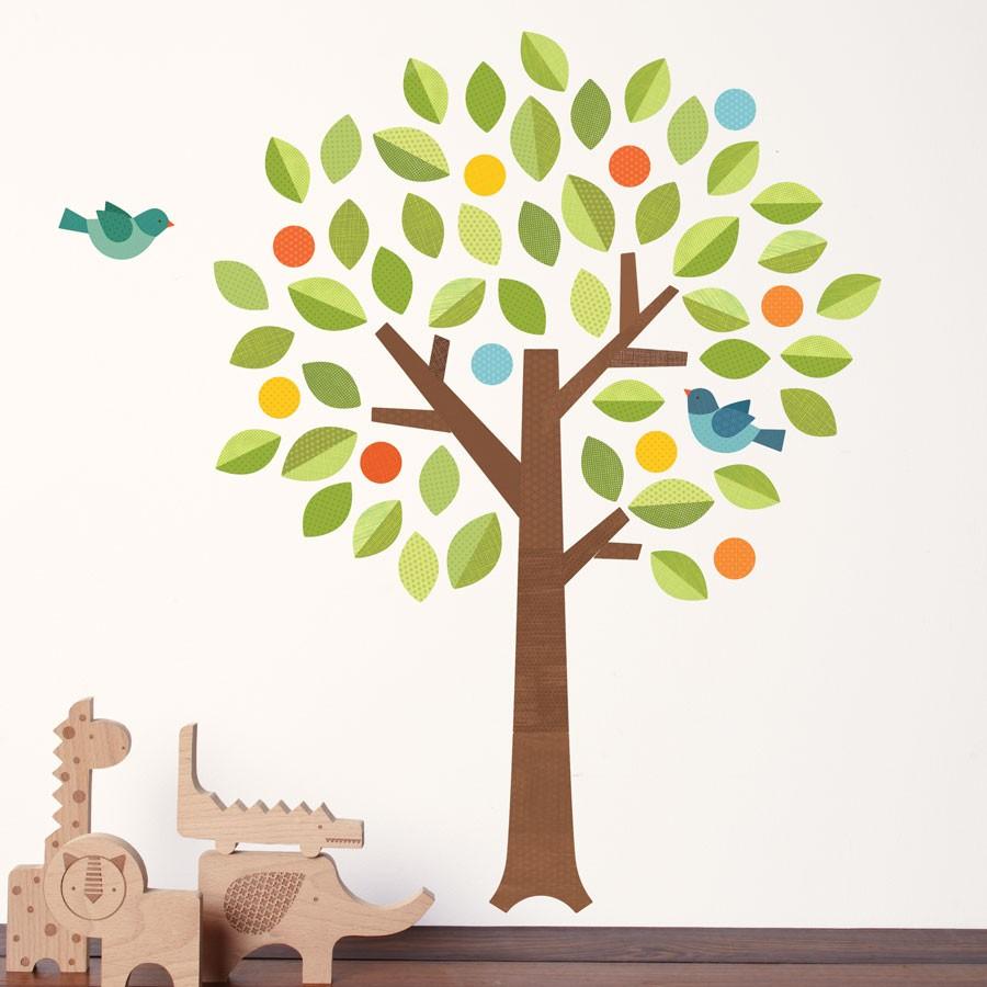 best nursery wall decals polka dot tree wall decal 49 00