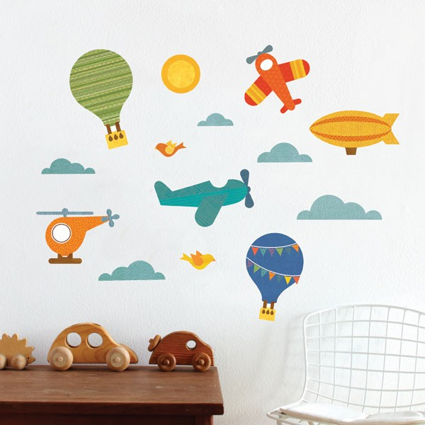 By Air. This fabric wall decal ...