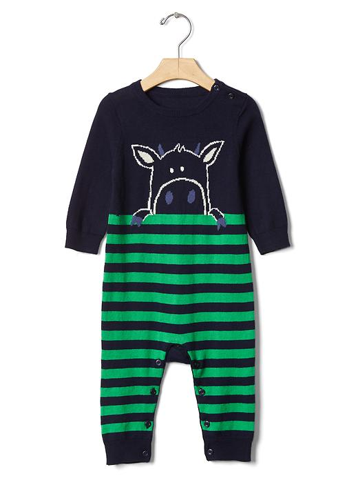 Peek-a-pet Sweater One-piece - $39.95