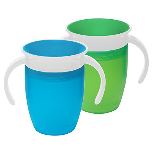 Munchkin Miracle 360 Trainer Cup, Green/Blue - $12.99