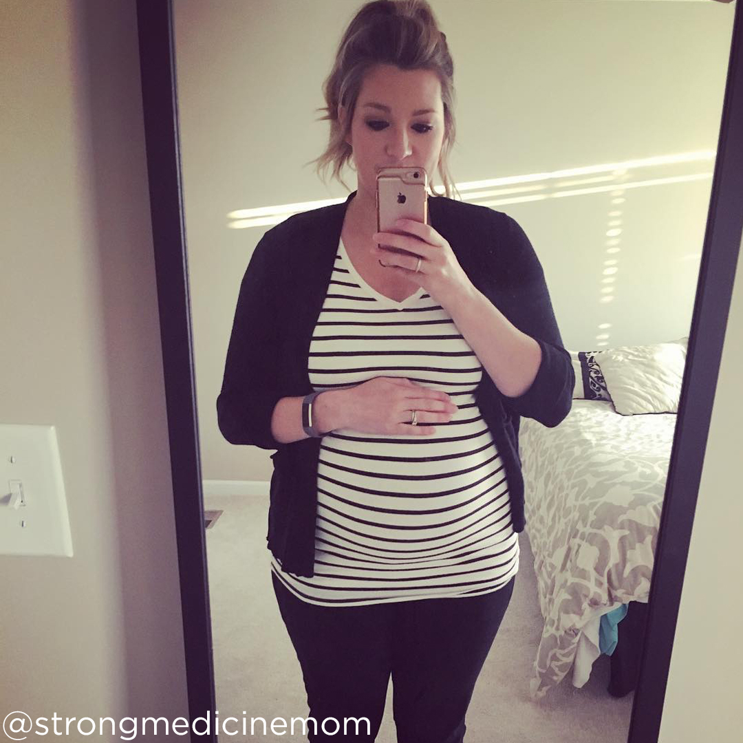 37 weeks pregnant pictures @strongmedicinemom