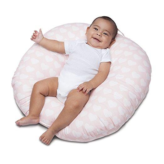 Newborn Lounger - Pink Hearts - $29.99