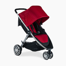 britax-single-stroller-red