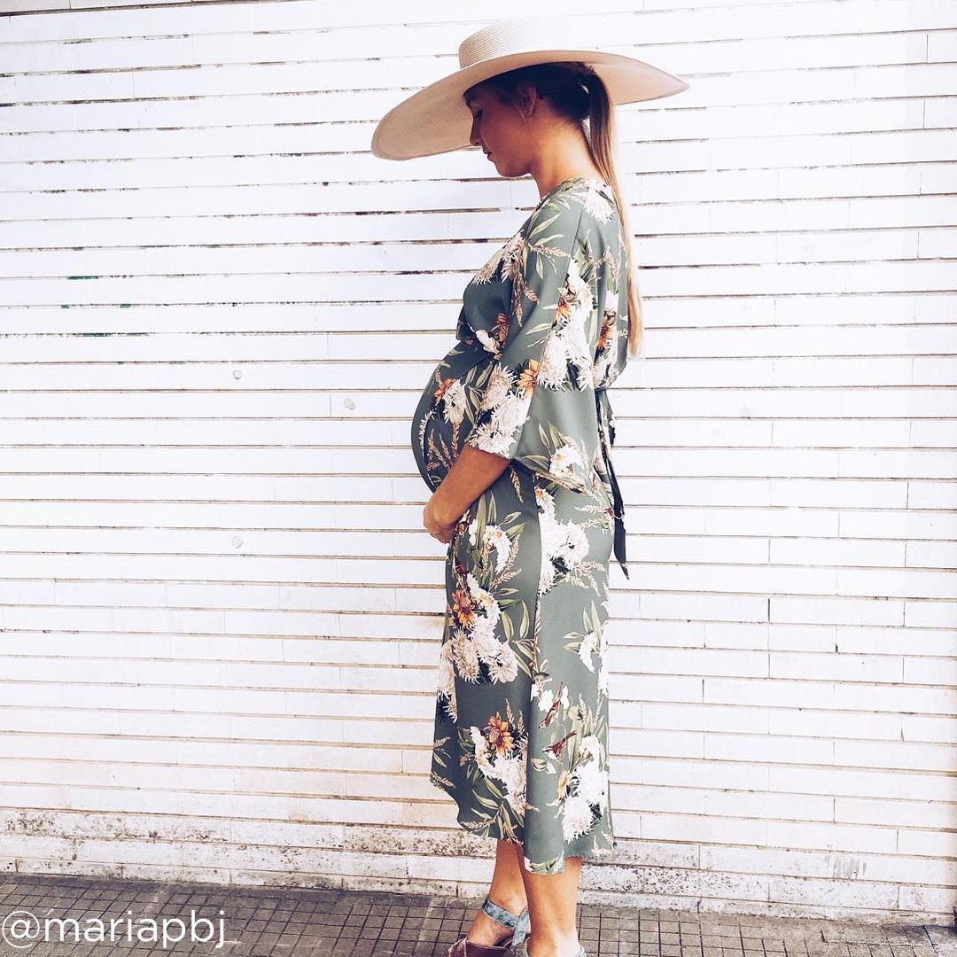 28 weeks pregnant belly @mariapbj