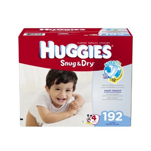 Huggies Snug & Dry Diapers - $33.73