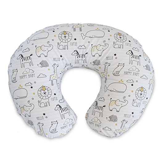 Classic Feeding & Infant Support Pillow - Notebook Black & Gold - $39.99