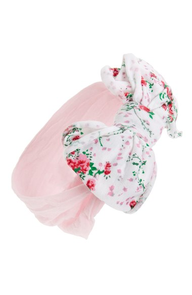 Jersey Bow Headband - $16.00