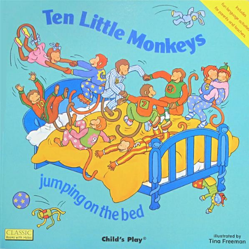 Ten Little Monkeys Jumping on the Bed - $4.77