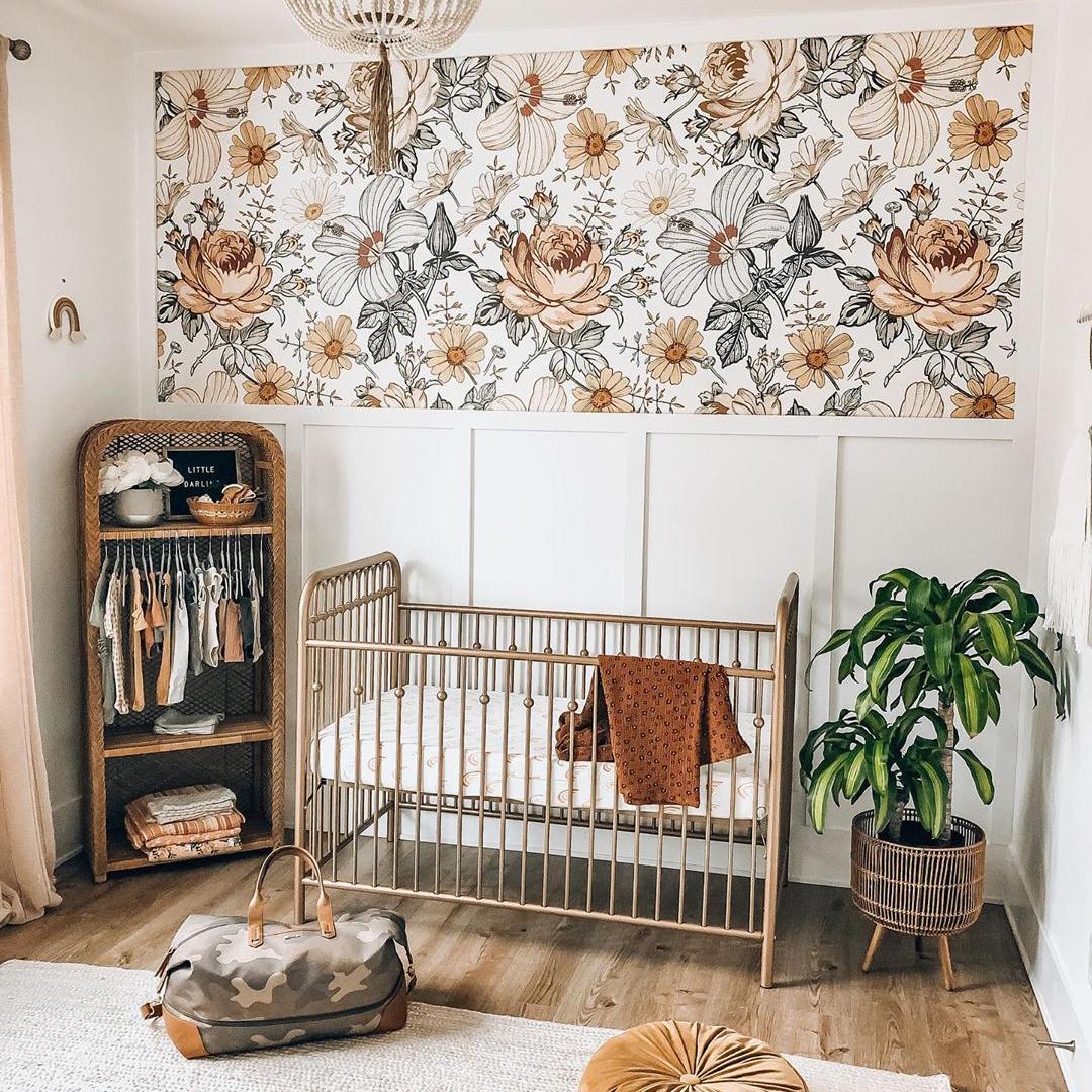 Small Space Nursery Go Bold
