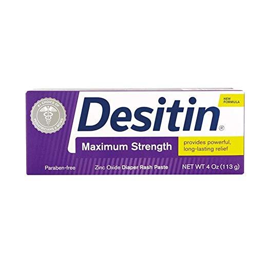 Desitin Maximum Strength Baby Diaper Rash Cream - $5.37