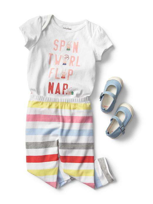 Spin, Twirl, Flop, Nap Multicolor Outfit - $54.85