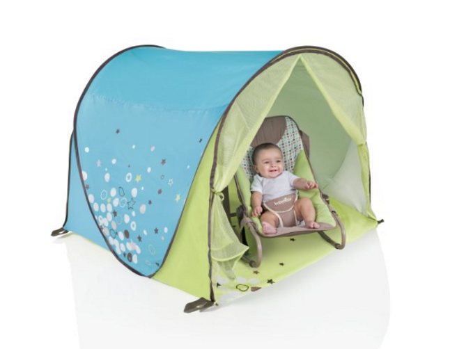 Babymoov Anti-UV Tent in Blue u0026 Green - $39.99  sc 1 st  Babylist & Best Baby Beach Tents