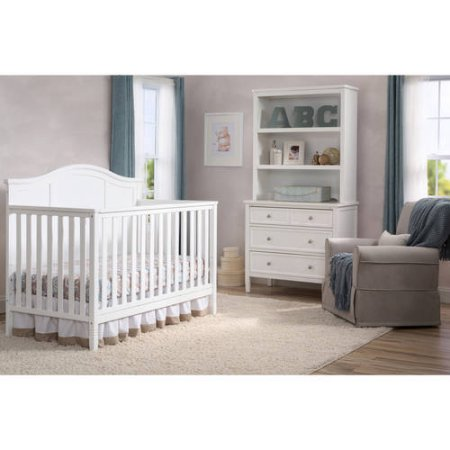Delta Children Madrid 4-in-1 Fixed-Side Convertible Crib - $Starting at $180.92