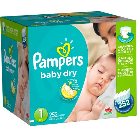 Pampers Baby Dry Diapers, Economy Pack - $Starting at $45.12