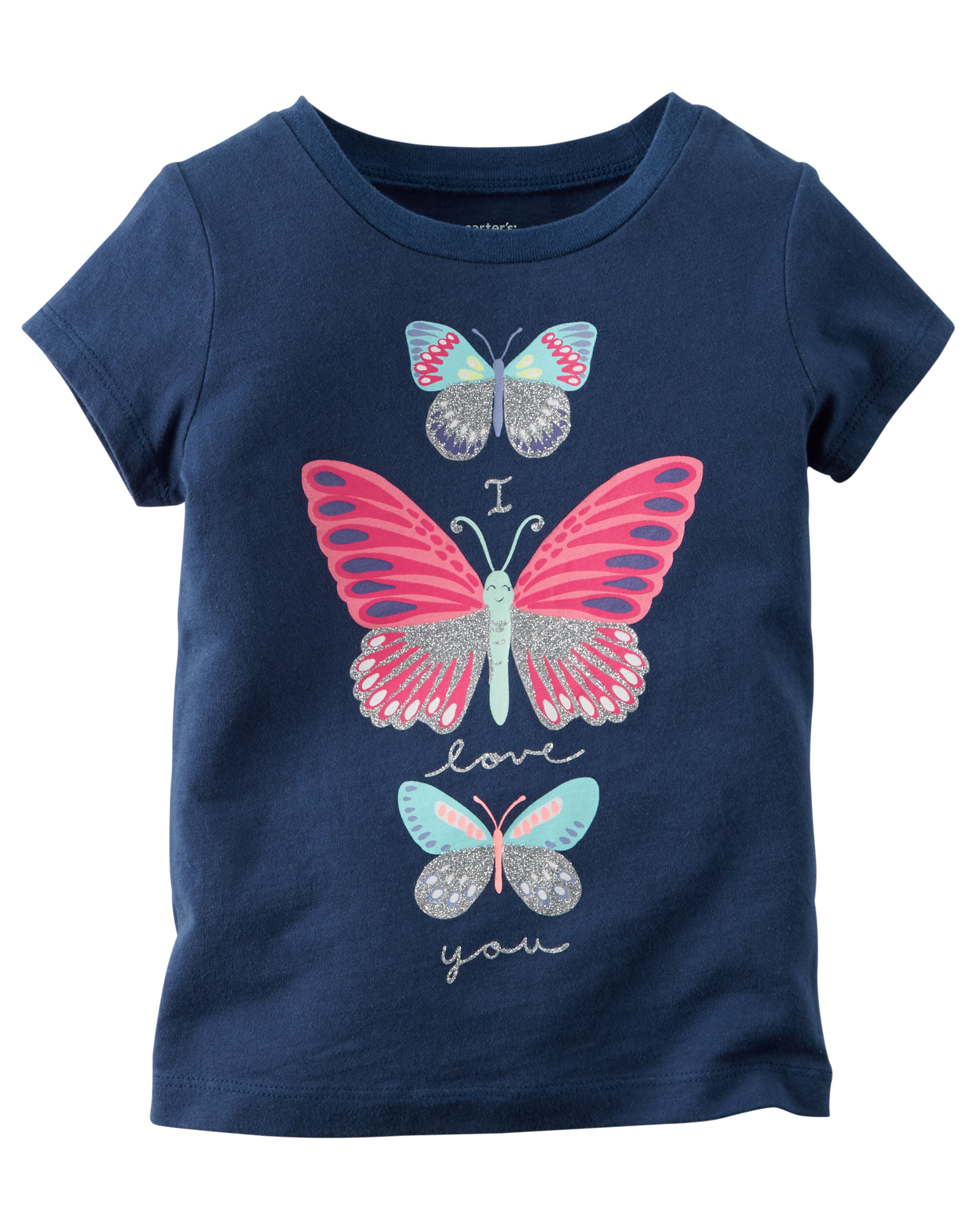 Butterfly Graphic Tee - $6.00