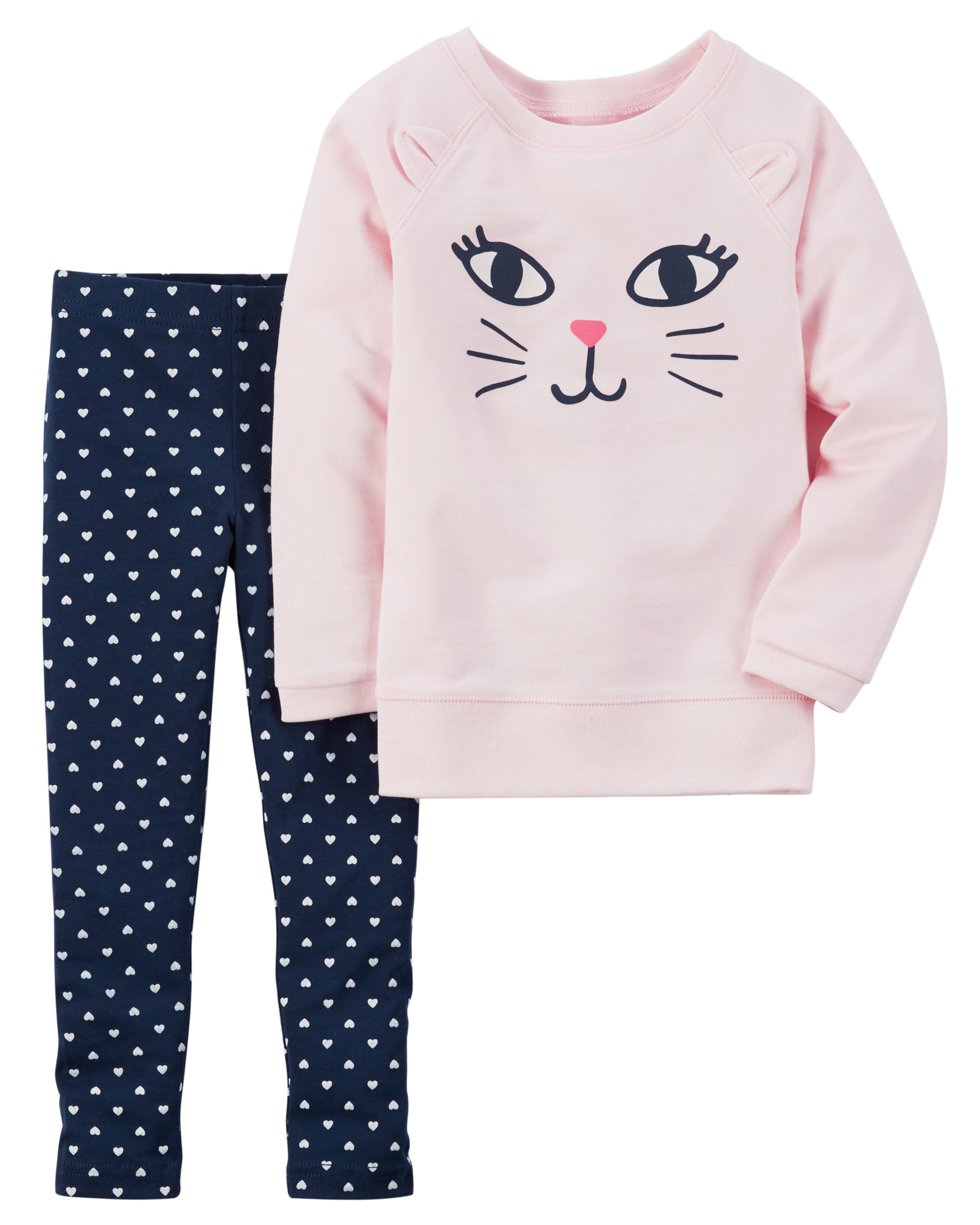 French Terry Top & Legging Set - $14.40