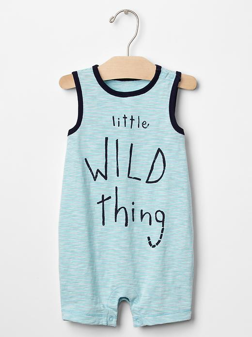 Little Wild Thing Shortie One-Piece - $19.95